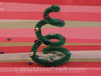 Spiral Christmas Tree Craft