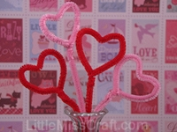 Heart Pops Craft