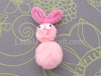 Rabbit Pom-pom Craft