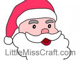 santa 2 coloring page - Coloring Page Of Santa 2