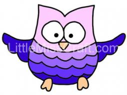 Owl Coloring Page 3