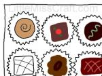 Sweets - Chocolate Doodle Coloring Page