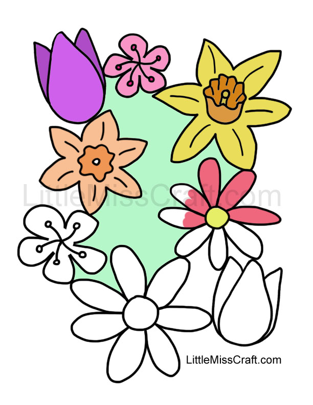 Spring  Free Coloring Pages  crayolacom