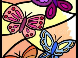 Butterfly Small Coloring Page