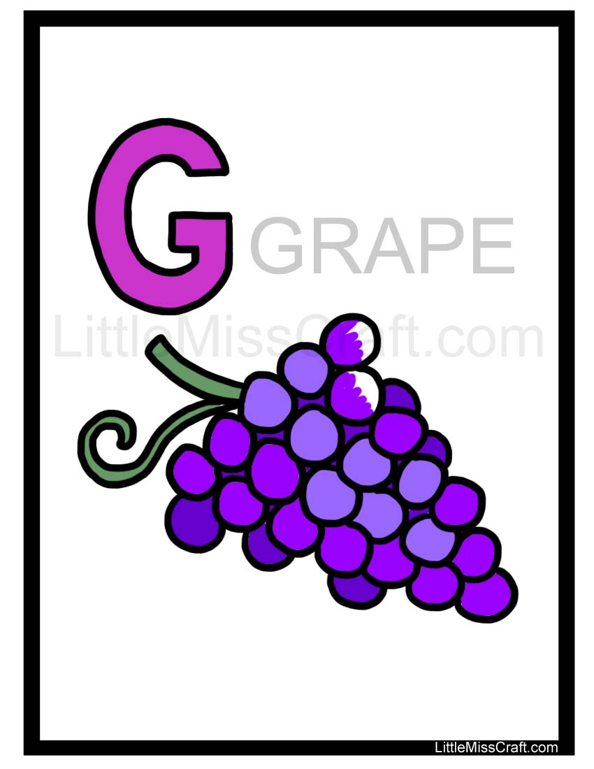 Worksheet. Crafts  Grape Alphabet Coloring Page