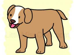 Puppy Dog Coloring Page
