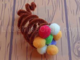 Fuzzy Cornucopia Craft