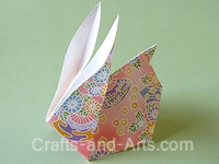 Rabbit Origami Craft