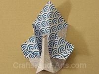 Peacock Origami Craft