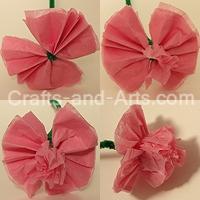 Crafts - Ranunculus Tissue Paper Flower