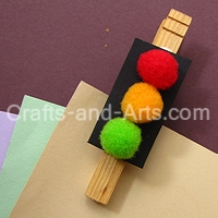 Crafts traffic light clip for Clip lights for crafts
