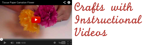 Crafts with Instruction Videos